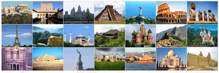 Las 7 maravillas del mundo actual