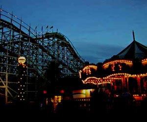 Noche en la feria